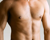 Picture of a perfect chest area